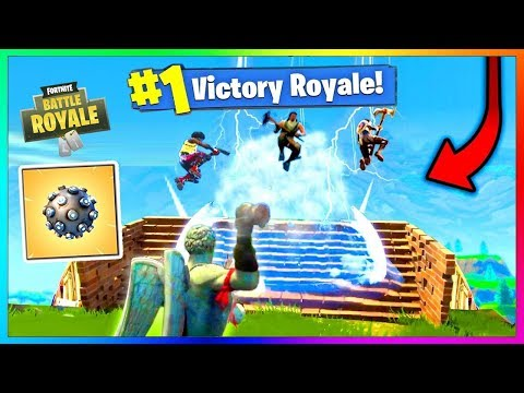 FAIRE TOP 1 avec la NOUVELLE GRENADE REPULSIVE ? Fortnite Battle Royale EPIC FAIL Moments !