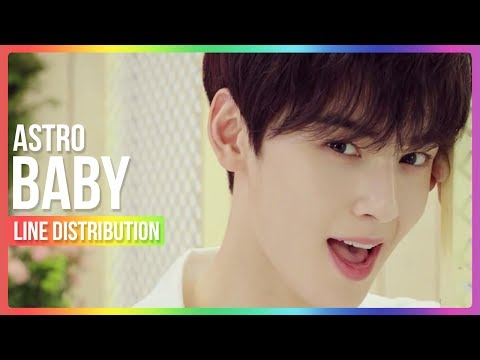 ASTRO - Baby Line Distribution (Color Coded)