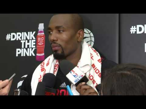 Raptors Practice: Serge Ibaka - February 22, 2017