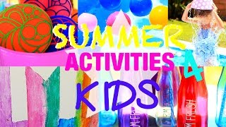 PINTEREST Inspired  Summer Activities for Kids