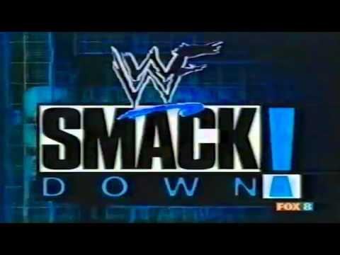 WWF Smackdown 1st Generation Intro & Pyro
