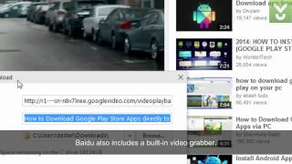 Baidu Spark Browser - Browse the Internet with confidence and speed - Download Video Previews