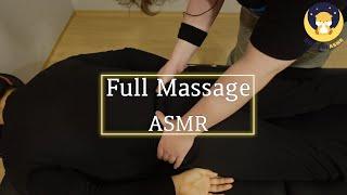 ASMR MASSAGE│몸을 이완시켜 주는 수면 유도 …