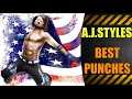 AJ Styles' Top 20 Best Punches!