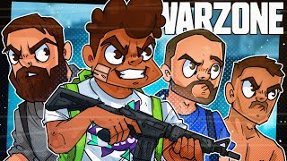 Trying To Carry My High School Friends In Call of Duty Warzone!