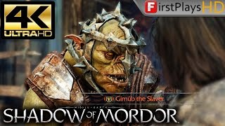 Middle-earth: Shadow of Mordor (2014) - PC Gameplay 4K / Max Settings / GTX 1080 / Win 10