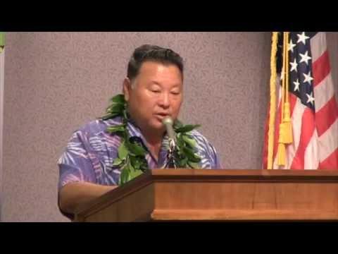 Aloha+  Challenge Maui Mayor Alan Arakawa SD