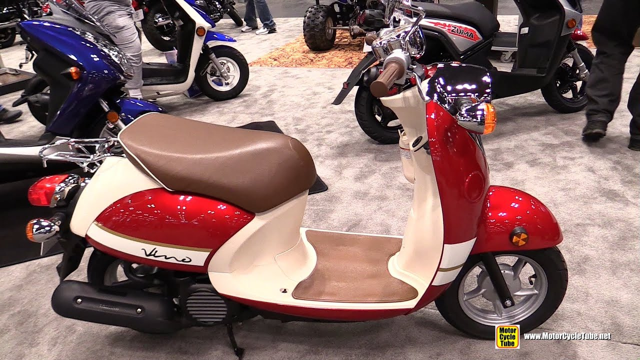 2015 yamaha vino classic 50cc scooter walkaround 2014. Black Bedroom Furniture Sets. Home Design Ideas