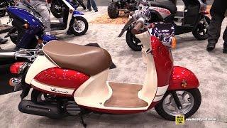 2015 Yamaha Vino Classic 50cc Scooter - Walkaround - 2014 New York Motorcycle Show