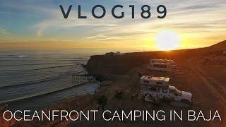 Oceanfront Camping for $4/night iฑ Baja