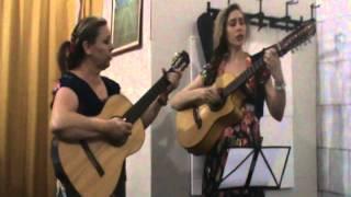 Hino 'Louvor do Caipira' - irmãs Lucy e Damáris - Igreja em Três Corações/MG - 28.10.12