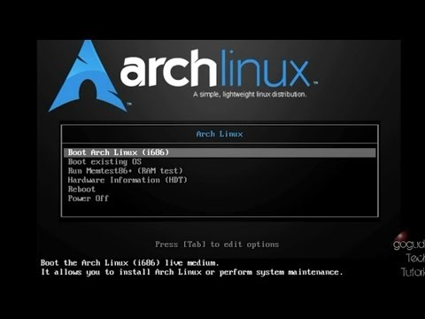 archlinux iso