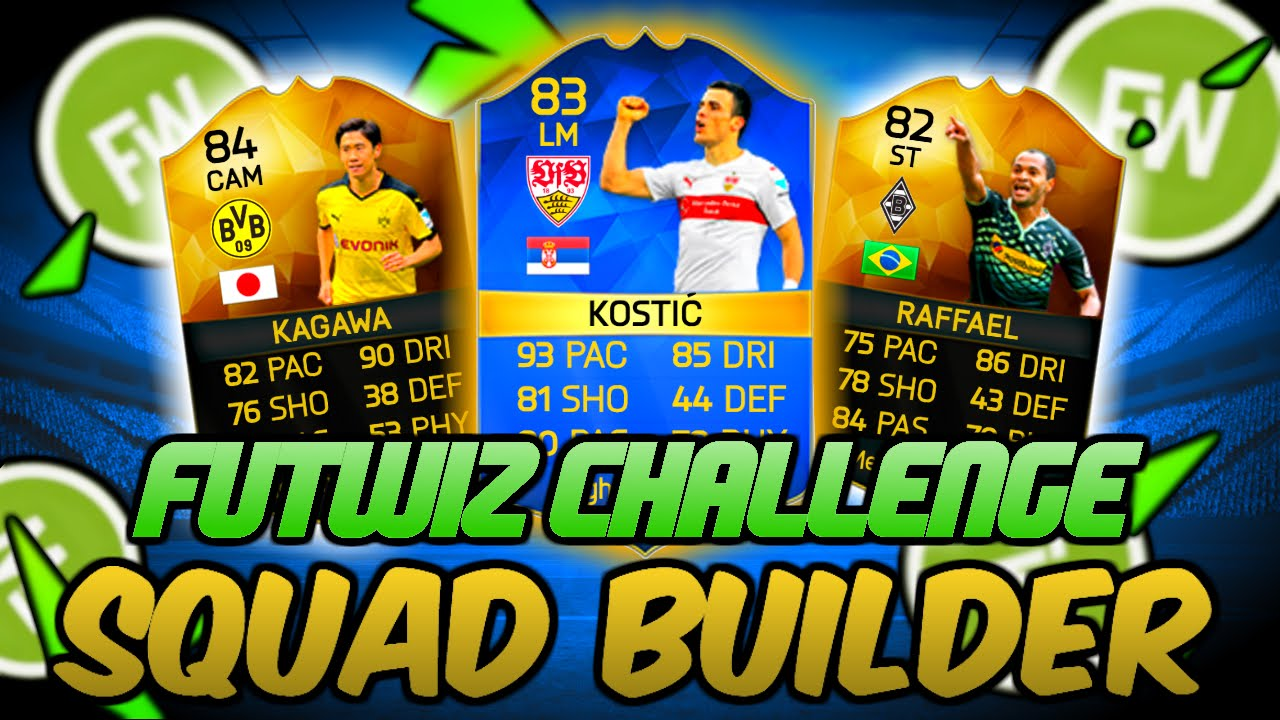 Fifa Ultimate Team Squad Builder Challenge