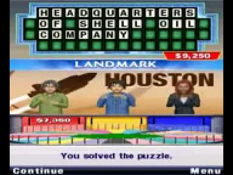 """Sony Online Entertainment """"Wheel of Fortune - Road Trip ..."""
