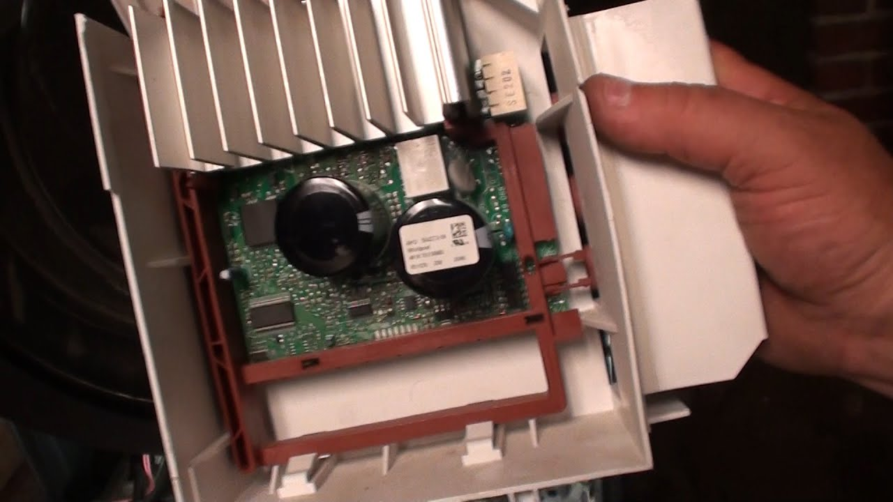 Kenmore He3t Washer Mcu Replacement Youtube