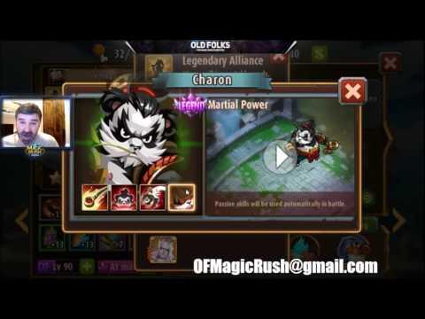 Magic Rush - Legendary Hero Strength / Weakness