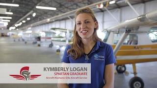 Aviation Maintenance Testimonial | Kymberly Logan | Spartan College