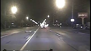 Dashcam video from police pursuit