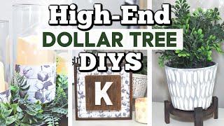 HighEnd Dollar Tree Decor Ideas You Can Make! | Dollar Tree DIY Farmhouse Decor | Krafts by Katelyn