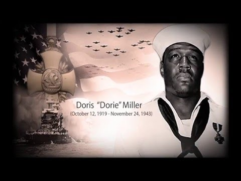 The Heroes of Pearl Harbor | Dorie Miller - Navy Cross
