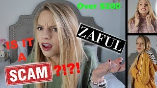 IS ZAFUL A SCAM?! OVER $200 OF CLOTHING HAUL! 100% honest opinion