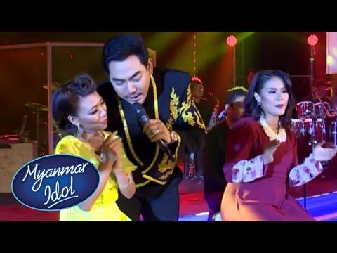 TOP 6 Myanmar Idol 2017 RESULTS Show | Season 2