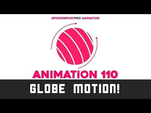 Globe Animation! (Microsoft PowerPoint 2013) | PowerPoint Pro
