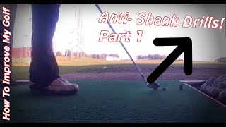 YouTube Golf Tip: How To Stop The Shanks Part 1