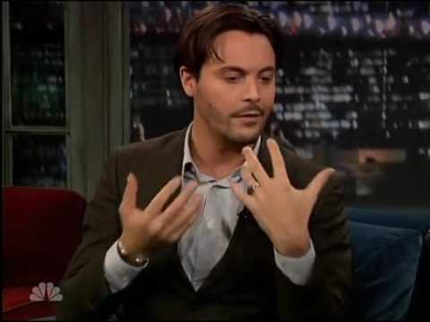 Jack Huston on Jimmy Fallon 2011