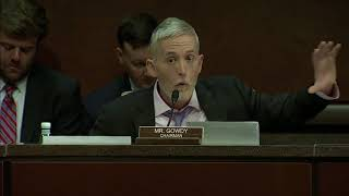 Trey Gowdy Scorches Peter Strozk, Lisa Page During Clinton/Trump Bias Hearing