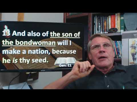 Dr. Kent Hovind 10-11-17 Gen 21 Birth of Isaac and the current Palestinian problem.