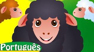 Mé mé ovelha negra   Animais de fazenda   Canções Infantis em Português   ChuChu TV