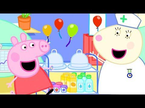 Peppa Pig Full Episodes | Hospital | Cartoons for Children