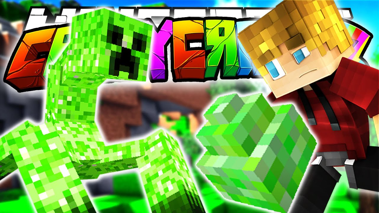 Minecraft crazy craft 3 0 mutant creeper eggs mutant for Watch create and craft tv online