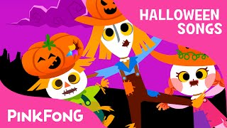 Video Three Scarecrows | Halloween Songs | PINKFONG Songs for Children download MP3, 3GP, MP4, WEBM, AVI, FLV Januari 2018