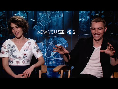 Lizzy Caplan and Dave Franco on Now You See Me 2
