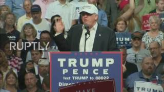 USA: 'What do you have to lose?' - Trump courts African American vote