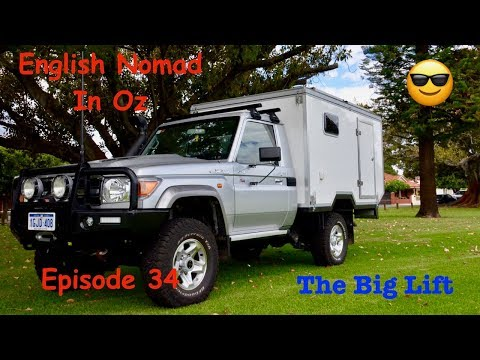 LandCruiser Expedition Vehicle _ The Big Lift _ Ep 35
