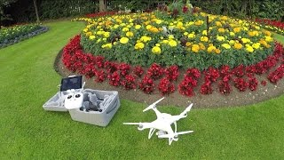 Can the DJI Phantom 4 fly in strong winds?