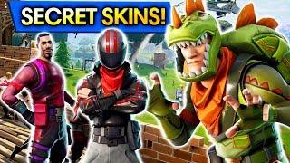 *NEW* SECRET NEW SKINS in Fortnite: Battle Royale!!