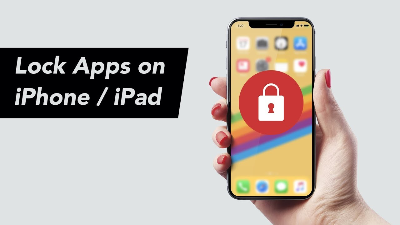 How to Lock Apps on iPhone with Passcode in iOS 12