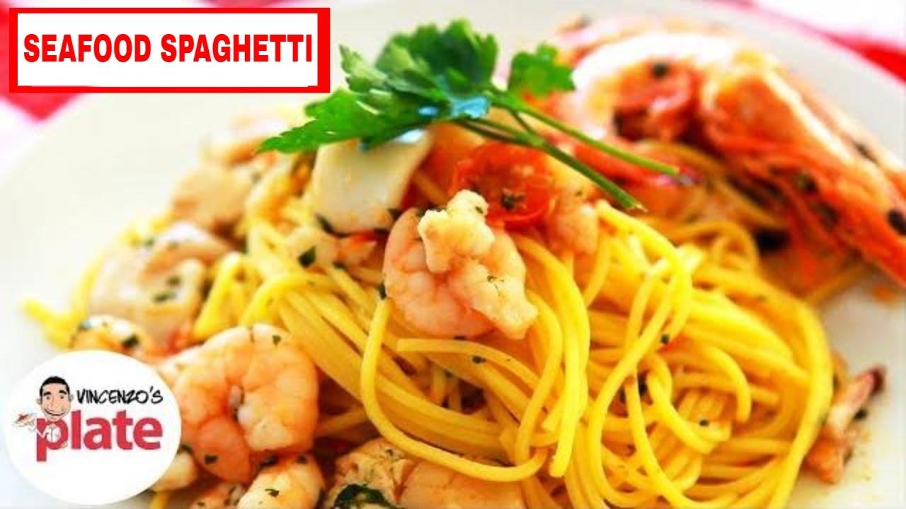 Awesome seafood spaghetti recipe italian seafood pasta spaghetti awesome seafood spaghetti recipe italian seafood pasta spaghetti con pesce youtube forumfinder Images