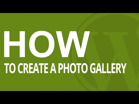 How to Create a Photo Gallery in WordPress