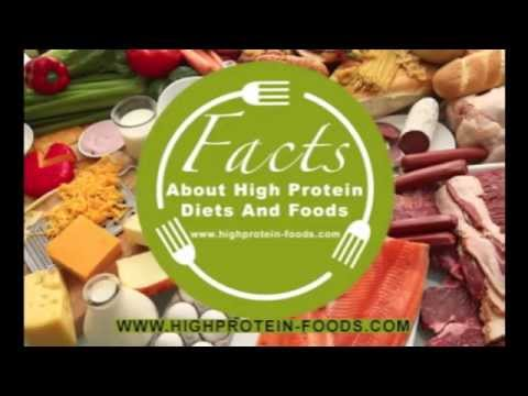 Some Facts About High Protein Diets And Foods