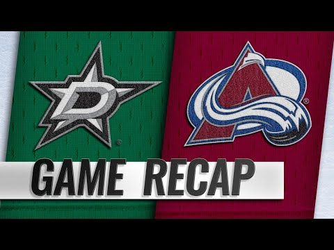 Avalanche rally in 3rd for 3-2 win against Stars