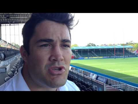 "England rugby player Brad Barritt praises ""wonder gel"""