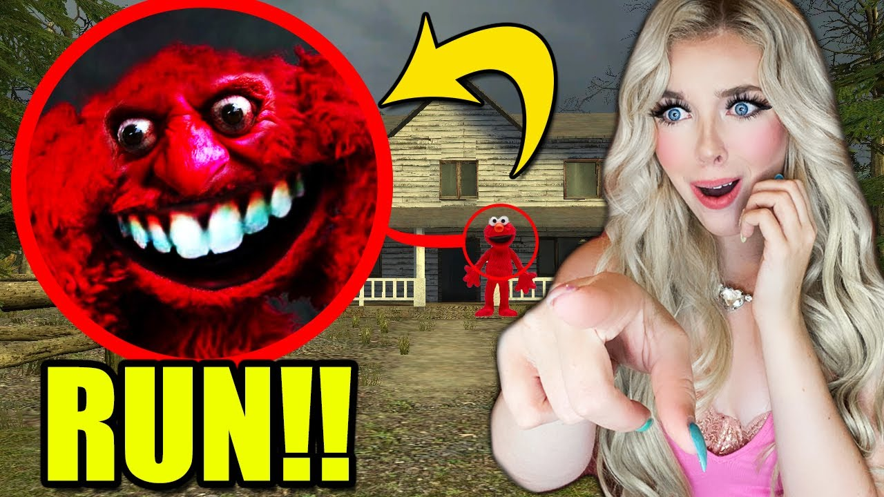 If you see CURSED ELMO.EXE Outside of your house, RUN AWAY FAST!!