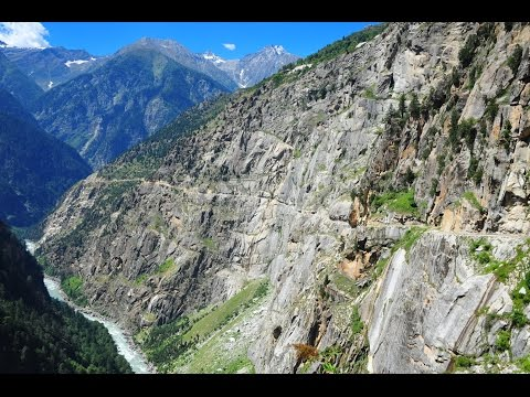 The Killar - Kishtwar Road in Kashmir
