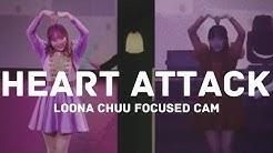 [MIRRORED] LOONA Chuu - HEART ATTACK Focused cam