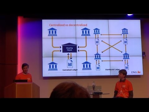 Smart contracts on the blockchain - Peter Rutgers & Cees van